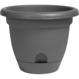 Bloem - Lucca Planter - Charcoal - 6 Inch