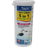 Mars Fishcare North Amer - 5 In 1 Aquarium Test Strips - 100 Count