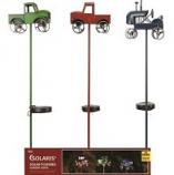 Alpine Corporation - Solar Farm Truck Led Stakes Display - 33 Inch