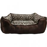 Ethical Fashion - Seasonal - Sleep Zone Cheetah Step In Bed - Cheetah - 18 Inch