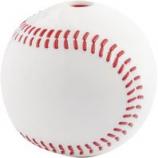 Planet Dog - Usa Baseball Orbee Tuff Dog Toy - White - 3 Inch