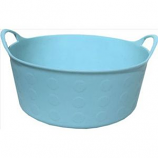 Tuff Stuff Products - Flex Tub - Sky Blue - 4 Gallon