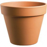 Southern Patio - Standard Clay Pot - Terra Cotta - 10 Inch