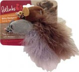 Worldwise- Bitty Badgers Catnip Cat Toy - 2 Pack