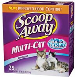 Clorox Petcare Products - Scoop Away Multi - Cat Litter - Scented - 25 Pound