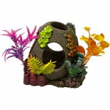 Blue Ribbon Pet Products - Sunken Orb Floral - Multi - Small