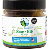 Green Coast Pet - Hemp + Msm For Dogs - Peanut Butter - 4 Oz