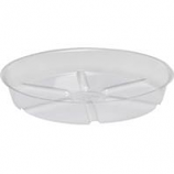 Bond Manufacturing - Plastic Saucer-Clear-10 Inch