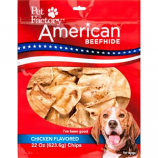 Pet Factory - American Beefhide Chips - Chicken - 22 Oz