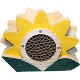 Welliver Outdoors - Welliver Mason Bee  Flower  House-Yellow & Green