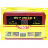 Parker Mccroy/Baygard - Parmak Super Energizer5 Fence Charger-Red-50 Mile