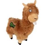 Quaker Pet Group - Godog Buck Tooth Llama Durable Plush Dog Toy - Tan - Large