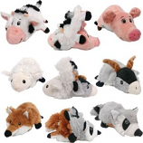 Ethical Dog - Flip A Zoo Barnyard Series - Assorted - 12 Inch