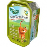 Emerald Pet Products - Cat Dental Treat Tub - Tuna - 11 Oz