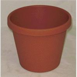 Myers Industries L&Ggroup - Classic Pot - Clay - 8 Inch