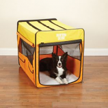 Guardian Gear - Collapsible Crate - Large - Orange/Yellow