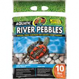 Zoo Med - Aquatic River Pebbles For Aquatic Turtle Habitats--10 Pound