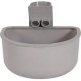 Petmate - Kennel Bowl Single - Gray - 21Oz