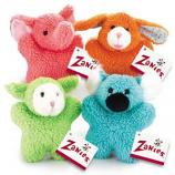 Zanies - Cuddly Berber Baby Bunny - 8Inch - Orange