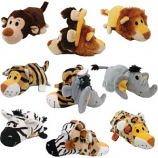 Ethical Dog - Flip A Zoo Wildlife Series - Assorted - 8 Inch