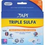 Aquarium Pharmaceuticals - Triple Sulfa Powder Packets - 10 Pack