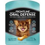Petiq - Frontline Oral Defense Daily Oral  Health Chews - Xs/14 Count