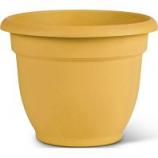 Bloem - Bloem Ariana Planter With Grid - Earthy Yellow - 10 Inch