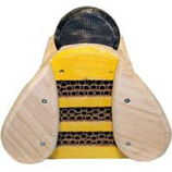 Welliver Outdoors - Welliver Mason Bee  Bee  House-Black & Yellow