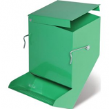 Prevue Pet Products - Metal Bin Feeder - Green