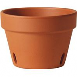 Southern Patio - Orchid Clay Pot - Terra Cotta - 6 Inch