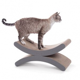 K&H Pet Products - Creative Kitty Crescent Moon Kitty Scratcher - Brown - 20X8.5X10