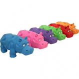 Multipet International - Origami Hippo Latex Toy - Assorted - 8 Inch