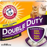 Church & Dwight Co Inc - Arm & Hammer Double Duty Clumping Litter - 20 Pound