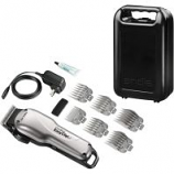 Andis Company - Groom Perfect Adjustable Cordless Clipper - Silver/Black - 5500 Spm
