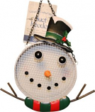 Songbird Essentials - Snowman Mesh Feeder - White