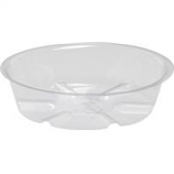 Bond Manufacturing - Plastic Saucer-Clear-6 Inch
