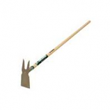 Truper Tools  - Tru Tough 2 Prong Weeding Hoe - Steel/Wood -