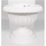 Novelty Mfg -Grecian Urn Planter-White-12 Inch