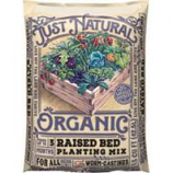 Old Castle Lawn & Garden - Just Natural Organic Raised Bed Mix - 1.5 Cubic Feet