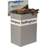 Bellingham Fall/Winter - Wg Insulated Liquidproof Glove Half Bin - Orange - Assorted