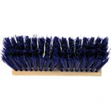 Nexstep Commercial Products - Heavy Duty Street Broom Head Only - Blue - 16 Inch