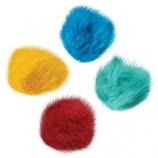 Zanies - Fur Balls Cat Toys Canister - 80 piece