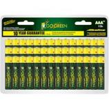 Gogreen Power - Alkaline Battery - Aaa/48 Pack