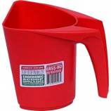Tuff Stuff Products - Ergonomic Scoop - Red - 8 Cup