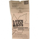 Bunzl Distribution  - Lawn And Leaf 5 Pack Of Paper Bag - Display - Brown - 30 Gallon/12 Pc