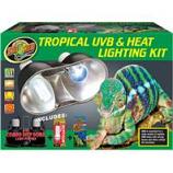 Zoo Med - Tropical Uvb & Heat Lighting Kit