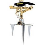 Melnor - Heavy Duty Triple Spike Pulsating Sprinkler