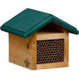 Welliver Outdoors - Mason Bee House Cedar-Natural/Green