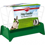 Super Pet - Container - Kaytee Free Stand Trough Hay Feeder - Assorted