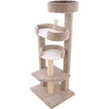 Ware Mfg-  Dog/Cat - Sleepytime Treetop Cat Furniture-Natural-20Wx24Dx58H